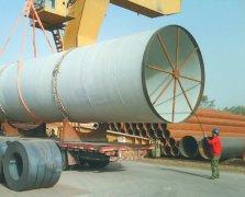 大口径螺旋钢管订单增多